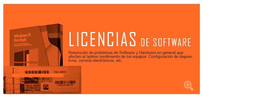 > LICENCIAS DE SOFTWARE